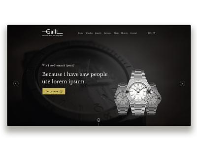 Classicwatch Website Dribbble Pres design portfolio website branding wordpres ux ui creative