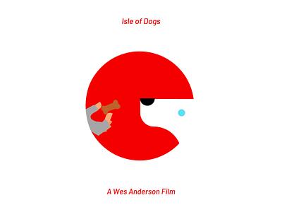 Isle of Dogs vector design