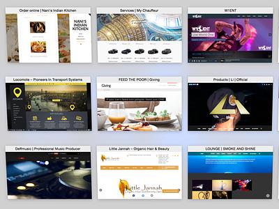 Website Designs logodesign branding event web ui ux web ui graphicdesign web deisgn website design website