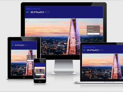 Zaydtech.com   Website Design web site ui brand logodesign graphicdesign branding website design website