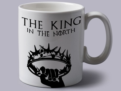 Game of Thrones Gift Mug Design illustration vector ui logodesign graphicdesign branding graphic game of throne gameofthrones mockup mug design mug gift