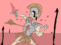 Legionario ilustración illustration