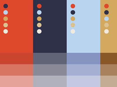 Roam Branding Colors colors branding design