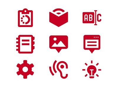 O'Reilly Media Design System: Iconography dribbble ux vector ui adobe behance design atomic ux designer brand creative iconography uiux product design design system