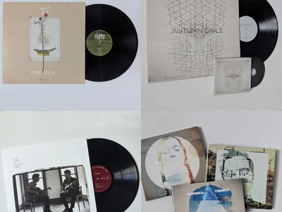 Vinyl Record Art + Design typography design illustration record art music art cover art vinyl record vinyl cover