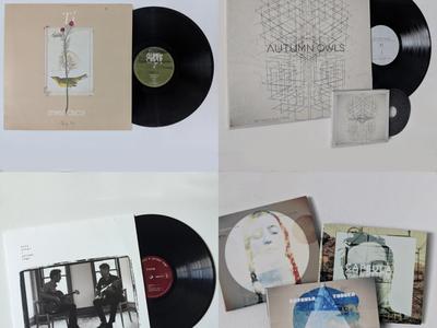 Vinyl Record Art + Design