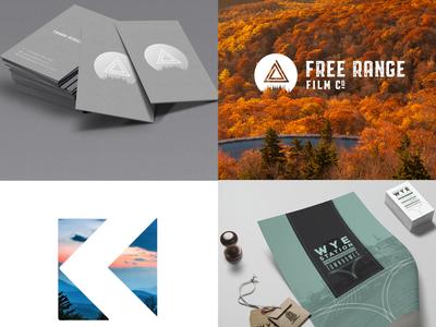 Outdoor Adventure Branding Design Samples