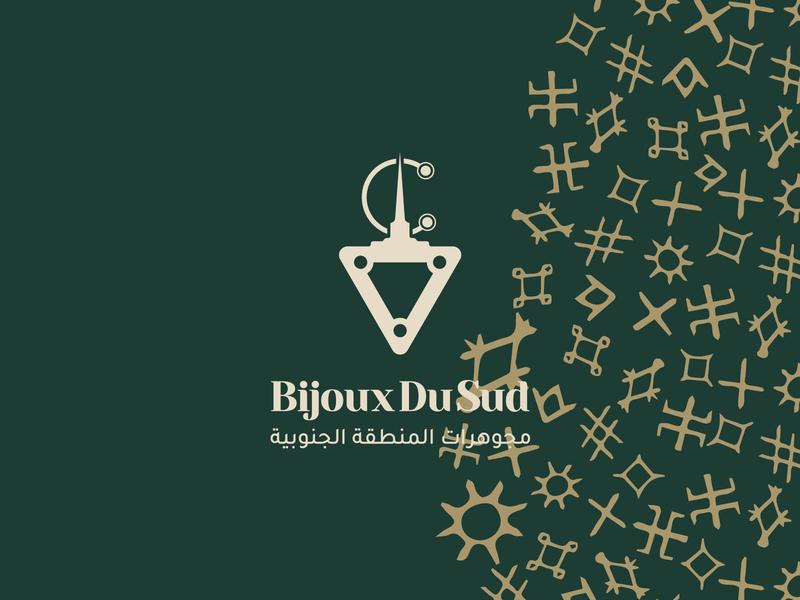 Bijoux Du Sud vector art typography branding illustration design icon minimal logo