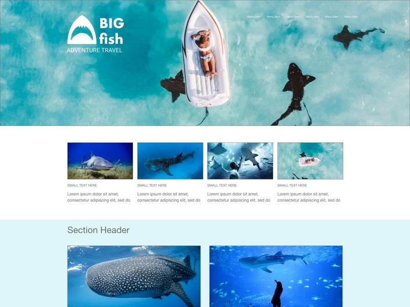 BIG Fish Adventure Travel