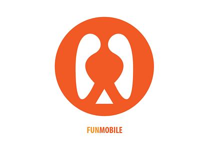Fun Mobile Logo vector illustration logo design