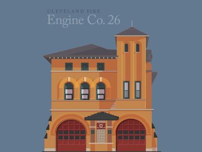 Cleveland Engine 26