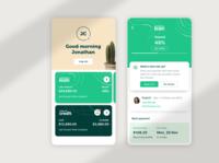 Prospa App - Home & Dashboard UI
