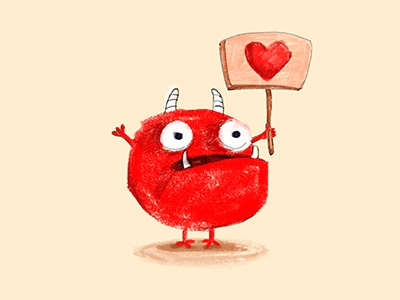 Red Monster: Love to everyone!