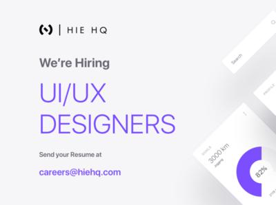 Hiring UI/UX Designers fulltime job ux ui designer hiring