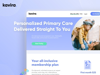 Kavira Health ui design colors design website landingpage behance dribbble ux minimal clean androidapp iosapp app telemedicine healthcare health uxdesign uidesign uiux ui