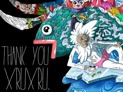 Thank You Xruxru
