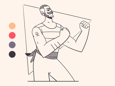 Boxing 🥊🥊 tattoo retro fight vintage boxing vector illustration