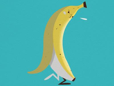 Banana spit