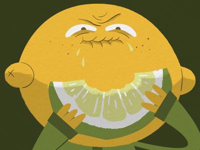 Lemon Face >_<