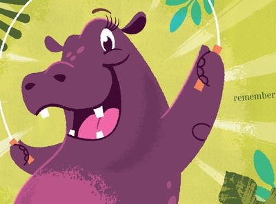Hip Hooray Hippo!, Jumping rope