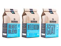 Backroom Coffee Roasters Packaging