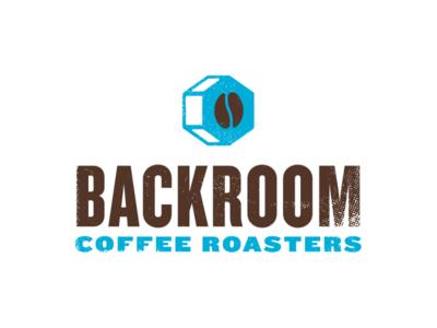 Backroom Coffee Roasters Logo branding logo design logo