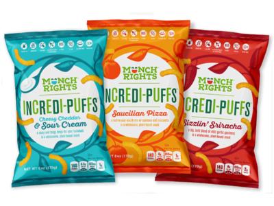 Munch Rights Package logo design branding illustration packaging