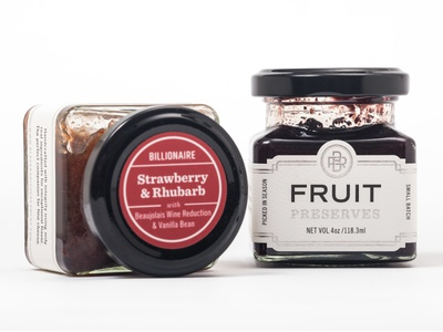 Black Radish Creamery Preserves packaging mark logo branding