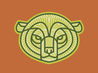 Rejected Logo for The Growlery Beer Co. patch outdoors logo illustration grizzly craft canada brewery beer bear badge alberta