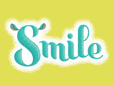 Chinchilla Smiles custom script illustrator adobe retro supply retro supply co texture kickstarter
