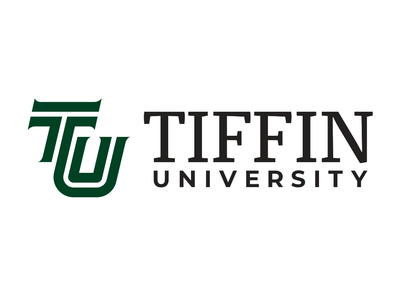 Tiffin University Logo monogram green logo university tiffin