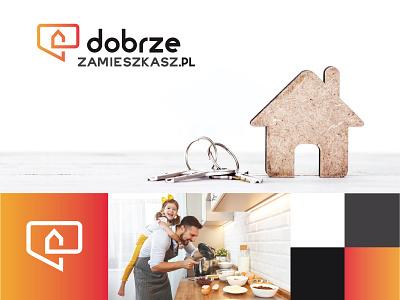 dobrzezamieszkasz.pl website design icon ui logo branding