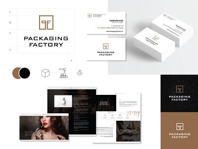 katarzynametrak packaging factory brand logo design logo designer brand identity branding