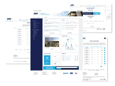 jhm developer - investor website real estate website webdesign