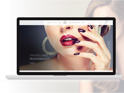Packaging Factory website factory bradning cosmetics website webdesign