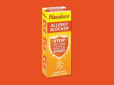 Nasaleze Allergy Blocker® Packaging