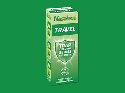Nasaleze Travel® Packaging