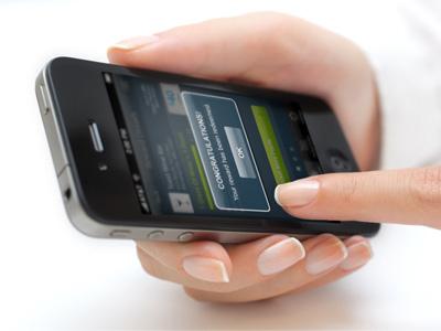 New App Promo Shot iphone app ui popup loyalty rewards progress qr promo stock
