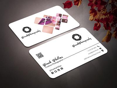 Elegant Photographer Business Card business card photographer photographer business card photographer design elegant business card business cards business card template business card design business card businesscard