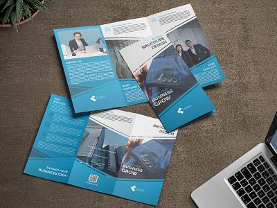 Tri-Fold Corporate Business Brochure brochure template corporate brochure corporate branding corporate design brochure mockup brochure design trifold template trifold tri fold brochure trifold brochure