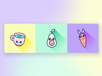 Cute Icons Food