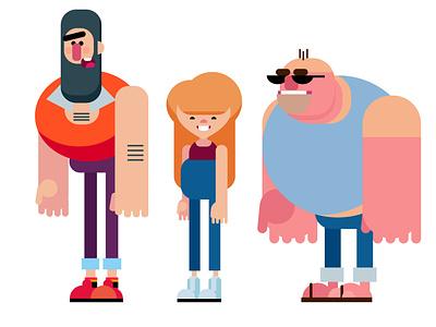 Characterdesigns vectorart illustration character comic characterdesign