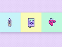 Iconset Cute Objects