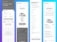 High Fidelity Mobile Wireframes