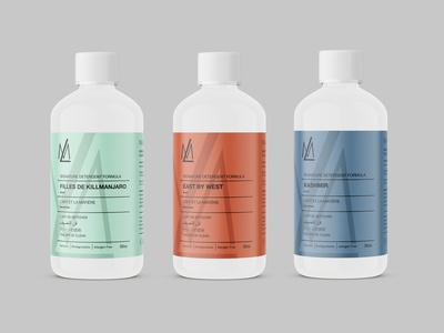 Detergent  Label Design Concepts For ML