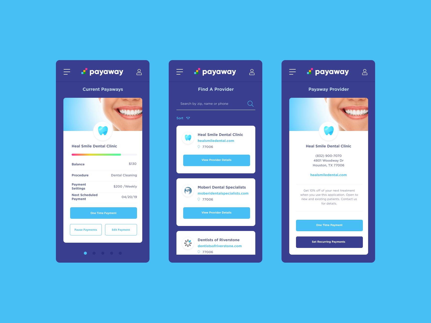Paywayscreens