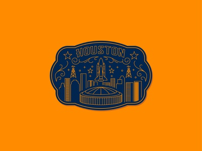 htown sticker sticker stroke blue orange buckle rodeo texans rockets astros houston