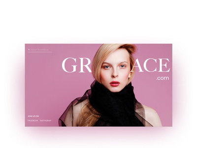 beauty website landing page website minimal web typography branding ux ui design