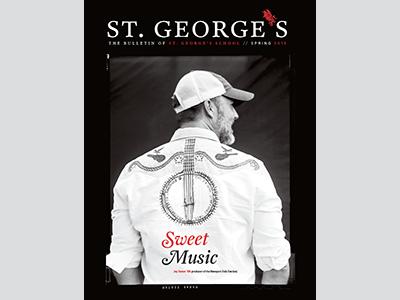St George's Bulletin magazine redesign