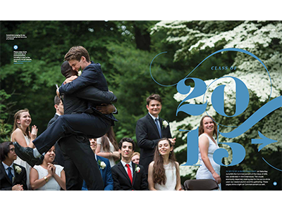 Class of 2015 editorial graduation magazine